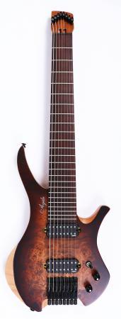 Agile Chiral 827 BBR Headless Guitar