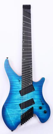 Agile Geodesic Pro 82528 EB MOD SS Oceanburst Headless Fan Fret Guitar