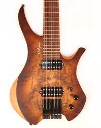 Agile Chirality 727 BBR Headless Guitar