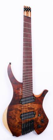 Agile Chiral Parallax 72527 Satin BBR Headless Guitar