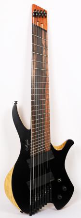 Agile Chiral Parallax 92528 EB EMG SS Flat Black Headless Guitar Advanced Order 12/17