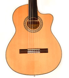 Agile Renaissance Classical 625 EQ CUT Fretless Guitar