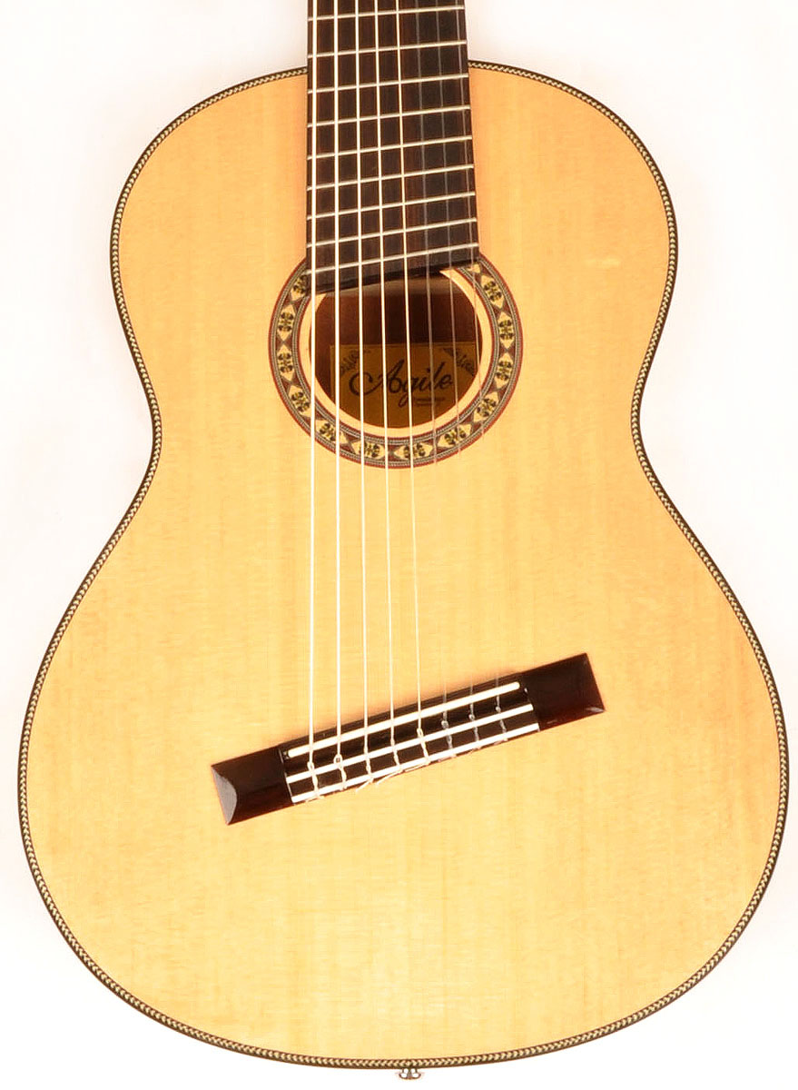 Agile Renaissance Classical 82527 Eq Na Return From Diagram Of A Nylon String Guitar 1
