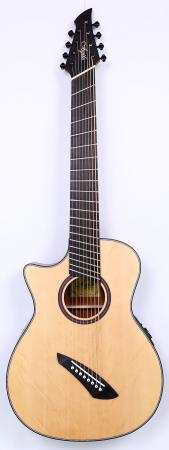Agile Renaissance 82730 RN EQ NA 8 String Acoustic Multiscale Guitar Left Handed