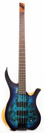 Brice Chiral 434 Headless Bass Satin Blue Purple Burst Advanced Order 9/17