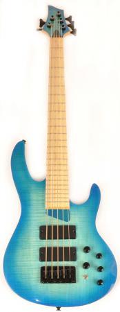 Brice HXB2-405 3/4 MN Oceanburst Flame Short Scale Bass Advanced Order 12/20