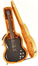 Douglas EGC-450 SG Premium Tweed Case with Gold Lining
