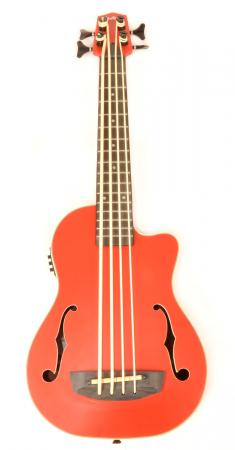 Hadean Bass Uke UK-20 FH RD K  Red