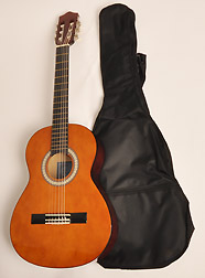 Left Handed Classical Acoustic Guitar 3/4 Size (36 inch) Nylon String w/Bag SX Class Kit 3/4 NA LH
