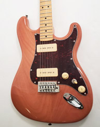 SX Hawk MN Mahogany P90 NAT Electric Guitar