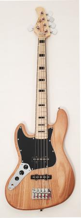 SX Ursa 2 MN 5 Ash NA 5 String Left Handed Bass
