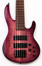 Brice HXB-406 3/4 AN Purple Flame Short Scale Bass Advanced Order July 15 Target Ship Date
