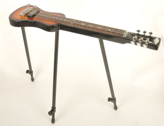SX Lap 2 Ash 3TS Left Handed Electric Lap Steel Guitar w/Bag & Stand