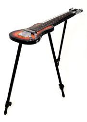 SX Lap 8 Ash 3TS Sunburst 8 String Lap Steel Guitar w/Stand and Bag