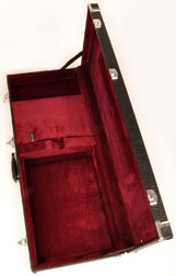 Douglas EGC-410 XL Black / Burgundy Headless Guitar Case for Geodesic Advanced Order