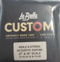 LaBella Steel String Acoustic 8 String Heavy (12-95) 27
