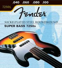 Fender 7250s Bass Strings