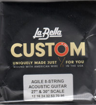 Labella Acoustic 8 String Set 27-30 Inch Scale