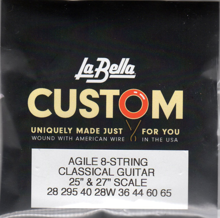 Labella Acoustic 8 String Set Classical (28-65)