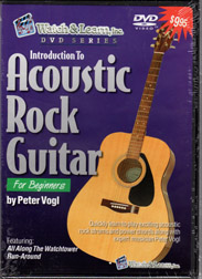 Introduction to Acoustic Rock Guitar DVD