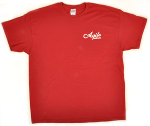 Agile Red T Shirt