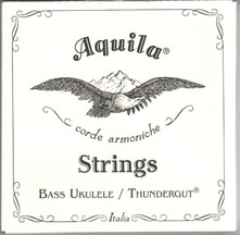 Aquila Thundergut String Set (For UKB Ukes)