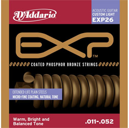 D'addario EXP 26 String 3 Sets