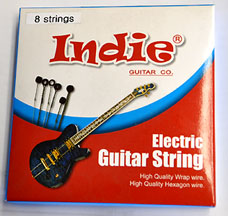Indie 8 String Guitar String Set