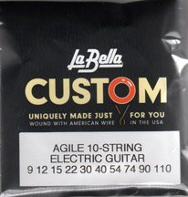 Labella Custom 10 String Guitar Set
