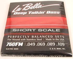 Labella 760 RHBB Round Wound Bass Strings 4 Sting Set 30