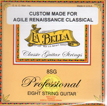 Labella Acoustic 8 String Set Classical SG (29-52)