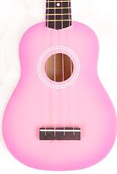 Omega UK-10 PKS Pink Ukulele