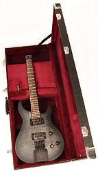 Douglas EGC-400 HD Black / Burgandy Headless Guitar Case