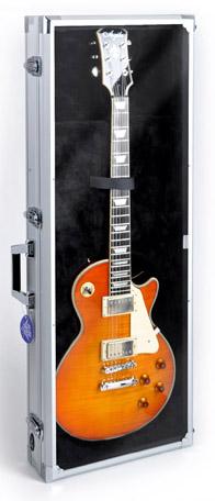 cnb esc 420 lp guitar display case. Black Bedroom Furniture Sets. Home Design Ideas