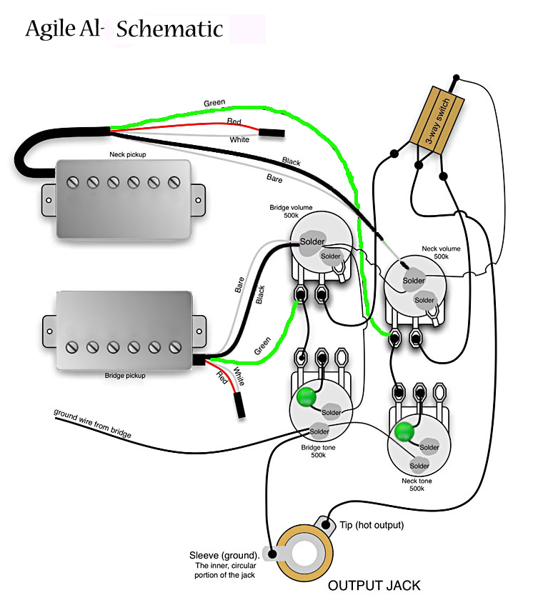 al 3100wire agile al 3000 csbf at rondomusic com gibson pickup wiring diagram at eliteediting.co