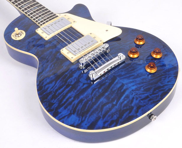 agile al 3010 se tribal blue w egc 300 electric guitar ebay. Black Bedroom Furniture Sets. Home Design Ideas
