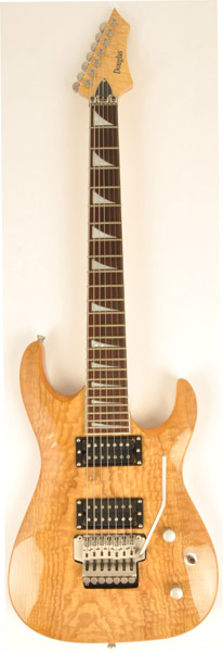 Douglas Scope 725 Nat Ash 7 String Guitar Natural