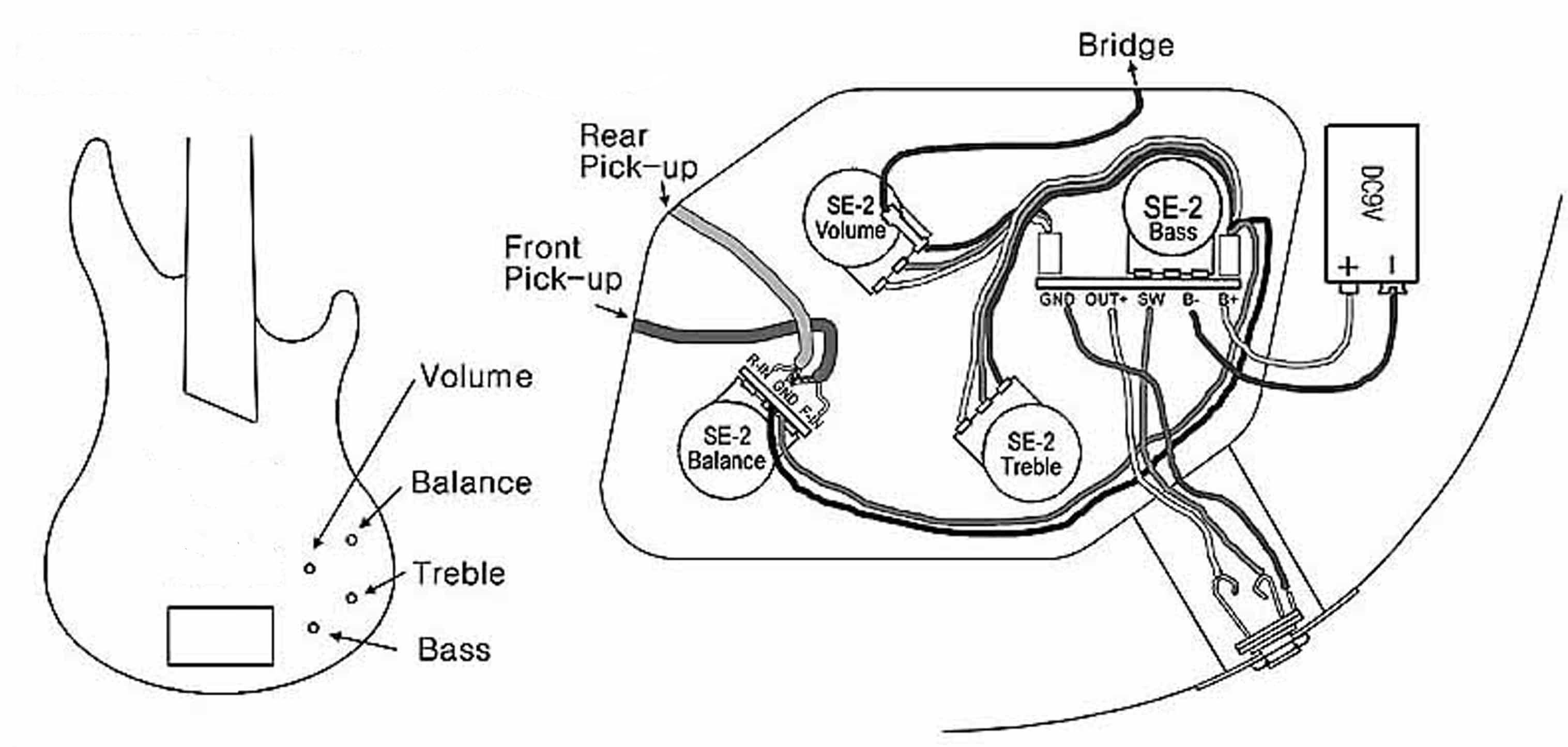 Wiring Diagram For 6 Strings Bass Guitar readingratnet